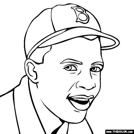 jackie robinson coloring page - SearchResults alpha=J
