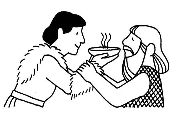 Jacob and Esau Coloring Page - Jacob and Esau Coloring Pages – Barriee