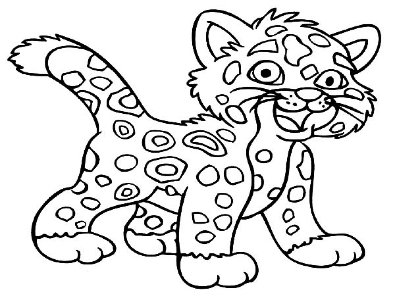 27 Jaguar Coloring Pages Images | FREE COLORING PAGES