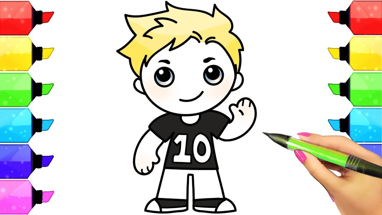 jake paul coloring pages - watch v=Gs9GWx1j6UY