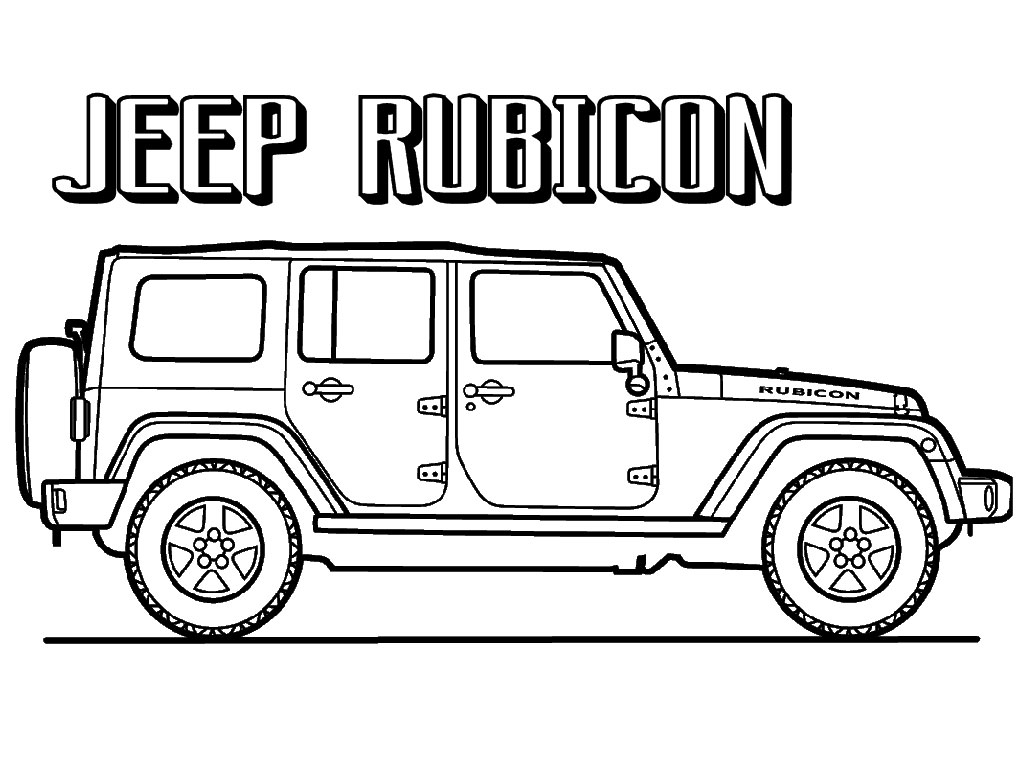 jeep coloring pages - 0