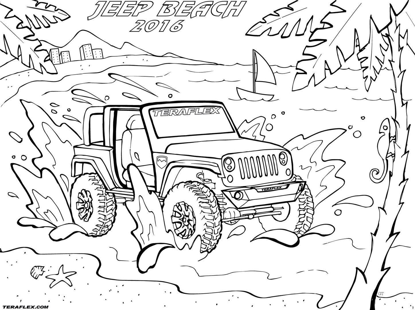 25 Jeep Coloring Pages Printable | FREE COLORING PAGES - Part 3