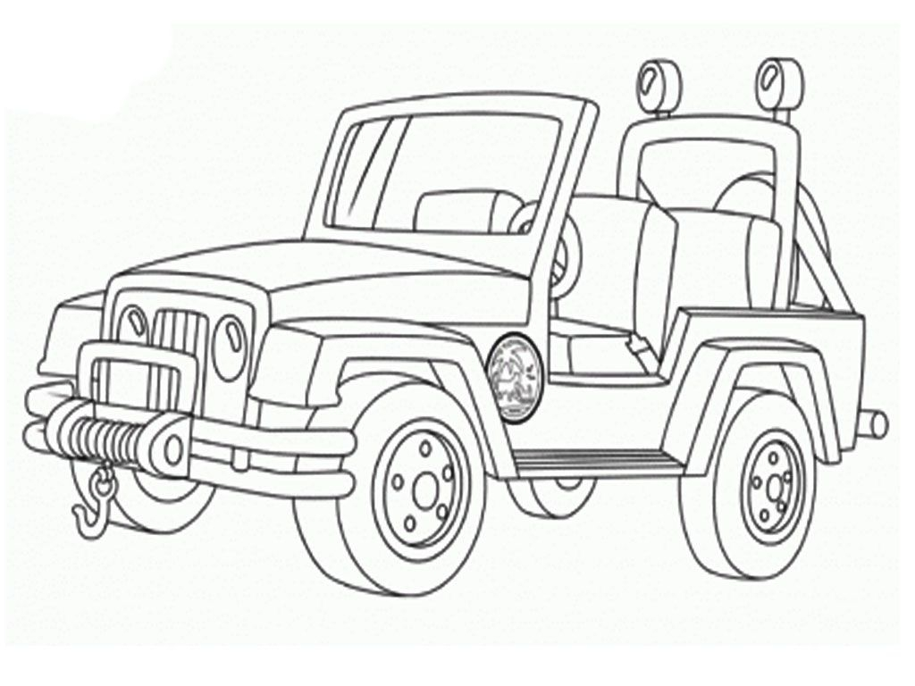 jeep coloring pages - military jeep coloring pages