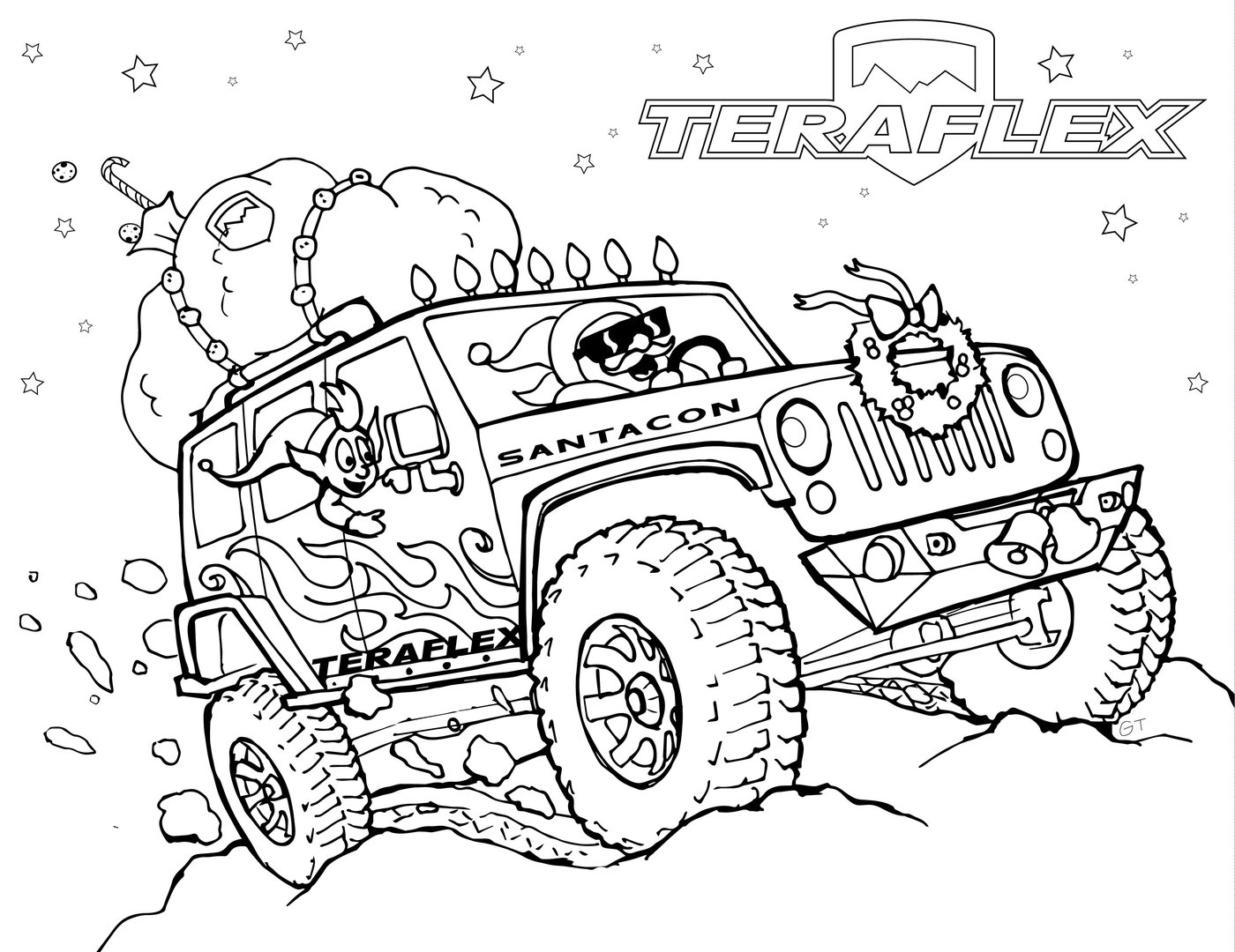25 jeep coloring pages printable - Coloring Page Jeep