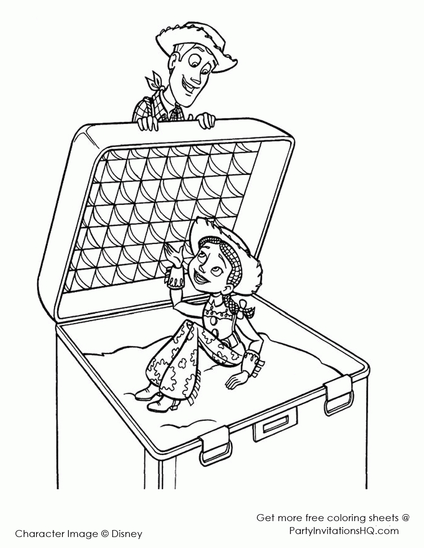 27 Jessie Coloring Pages Images | FREE COLORING PAGES - Part 2