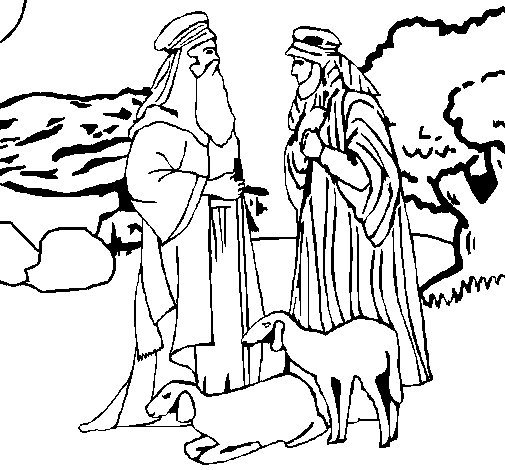 jesus ascension coloring page - bergers