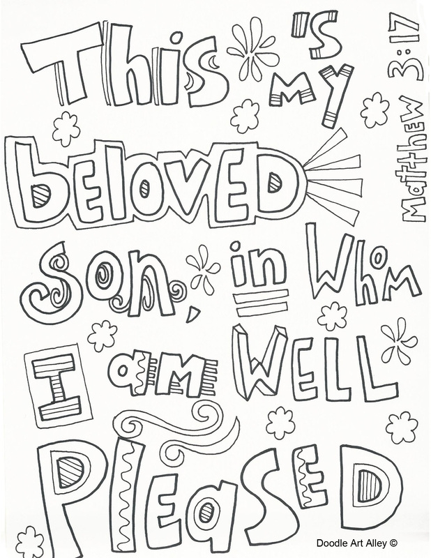 27 Jesus Baptism Coloring Page Images | FREE COLORING PAGES - Part 3