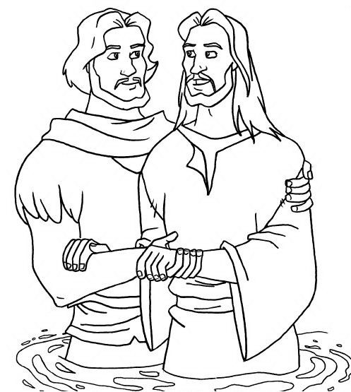 Magnificent Baptism Coloring Pages Motif - Coloring Page Ideas ...