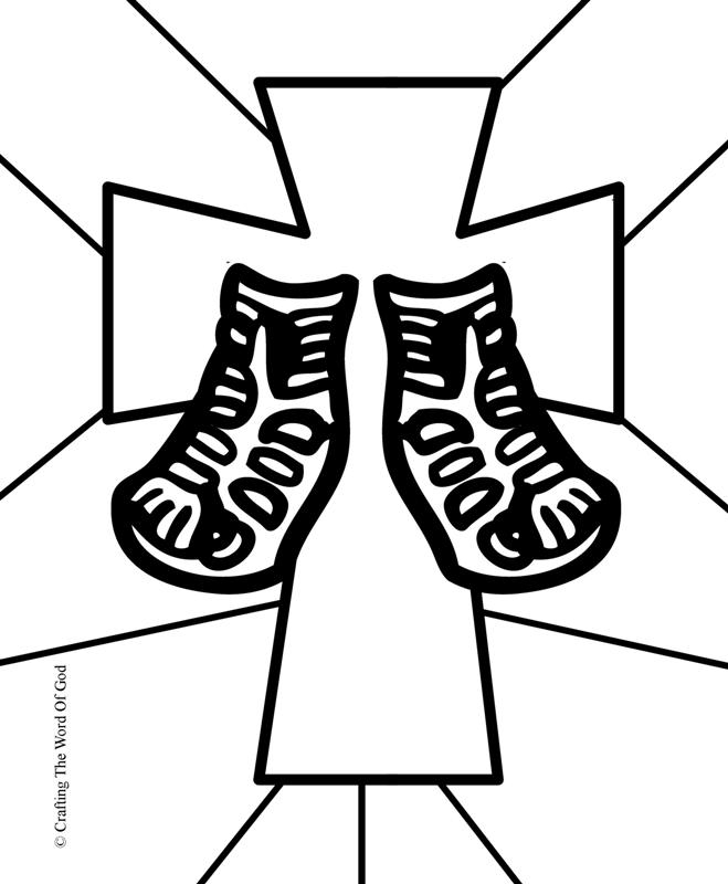 jesus birth coloring pages - sandals of peace