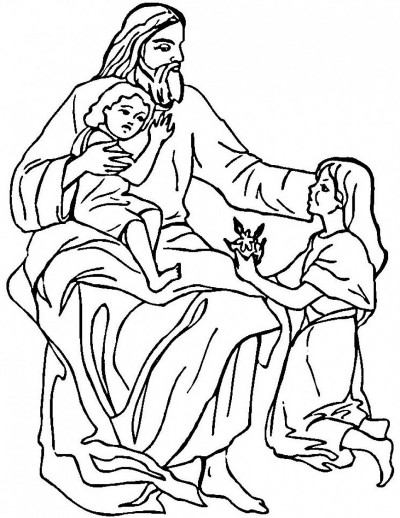 27 Jesus Calms the Storm Coloring Page Images | FREE COLORING PAGES