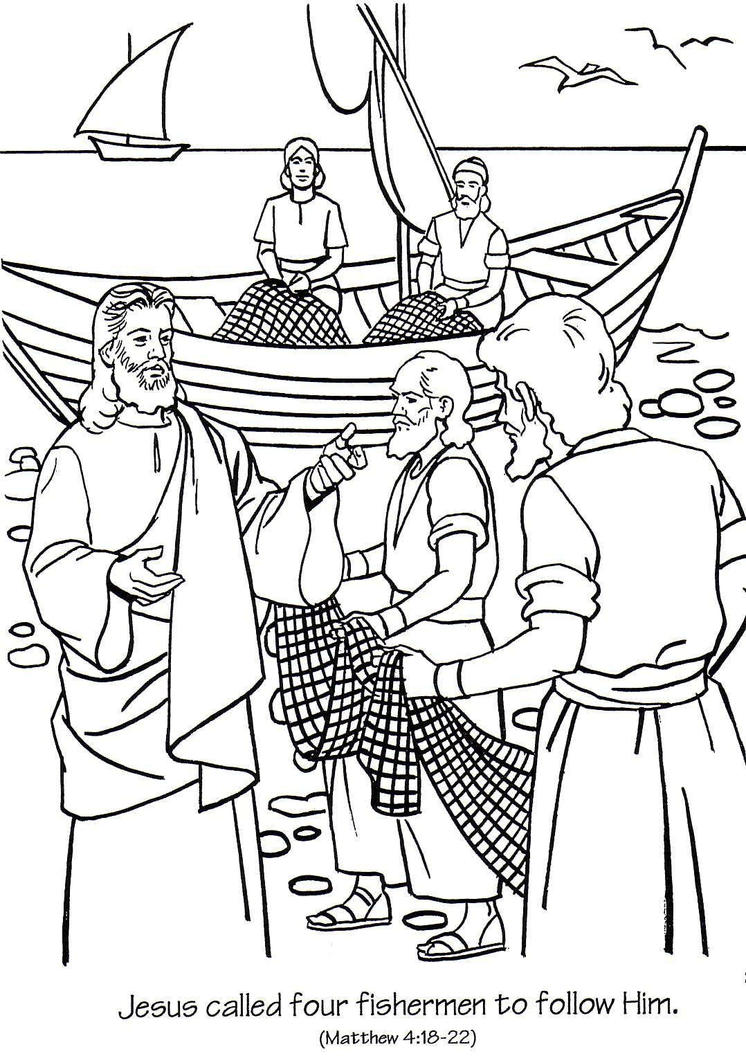 27 Jesus Calms the Storm Coloring Page Images | FREE COLORING PAGES ...