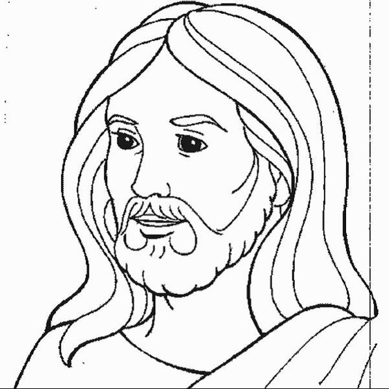 Jesus Coloring Pages - Free Coloring Pages Of Jesus as Superhero