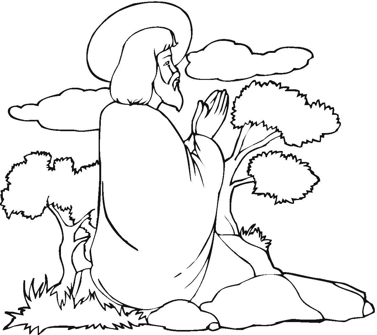 jesus coloring pages - jesus coloring pages