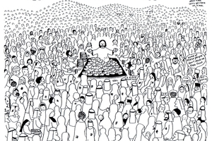 jesus feeds 5000 coloring page - 69ad678cd20b46f6 jesus feeding five thousand coloring page