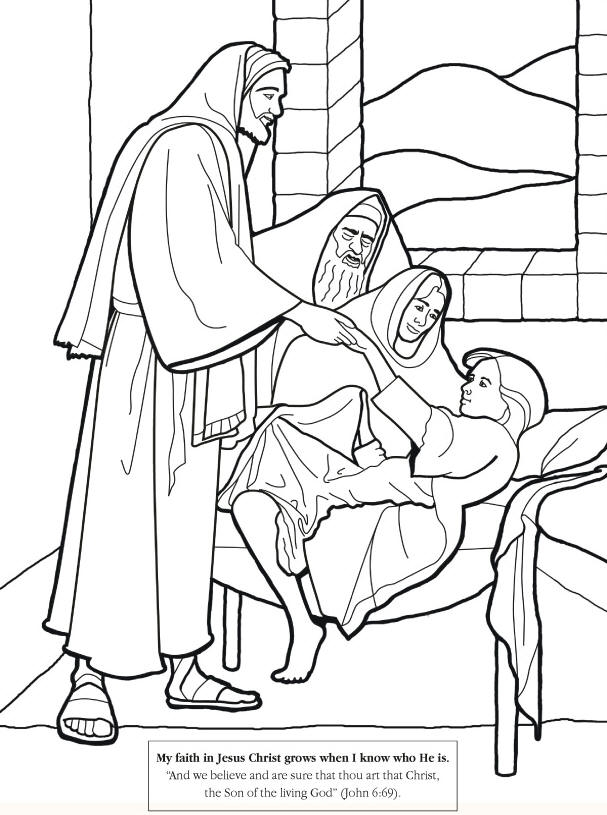 Jesus Heals Coloring Page - Jesus Heals Coloring Page Preschool Coloring Pages