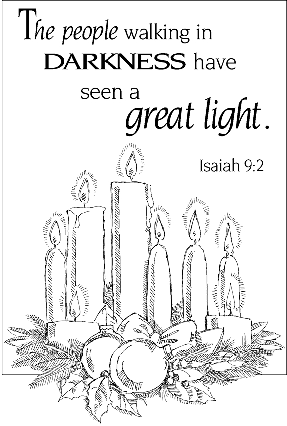 jesus is the light of the world coloring page - light of the world colorpg