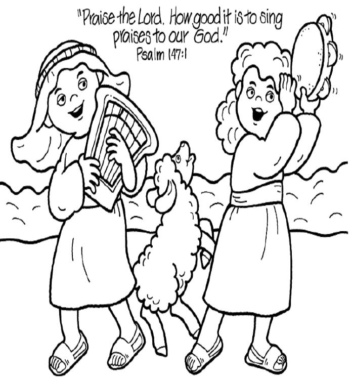 jesus loves me coloring page - colouring pages 4