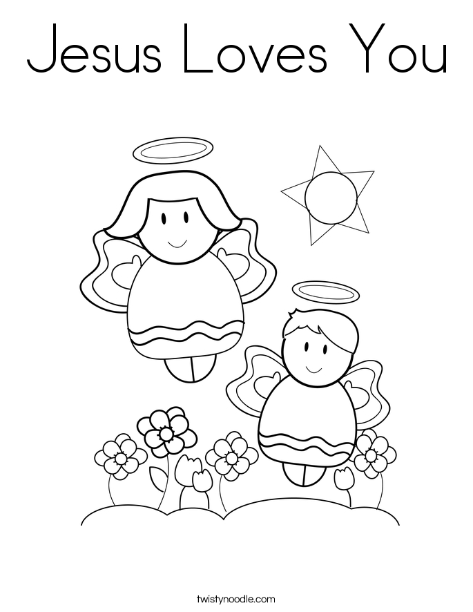 28 jesus loves me coloring page selection free coloring for Twisty noodle coloring pages