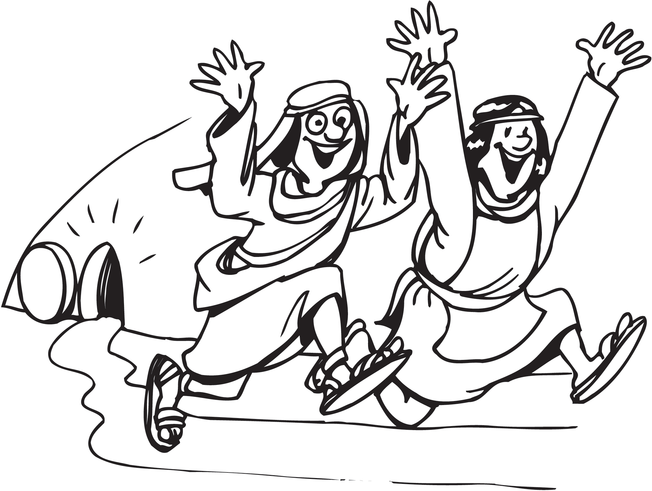 jesus resurrection coloring page - easter coloring pages