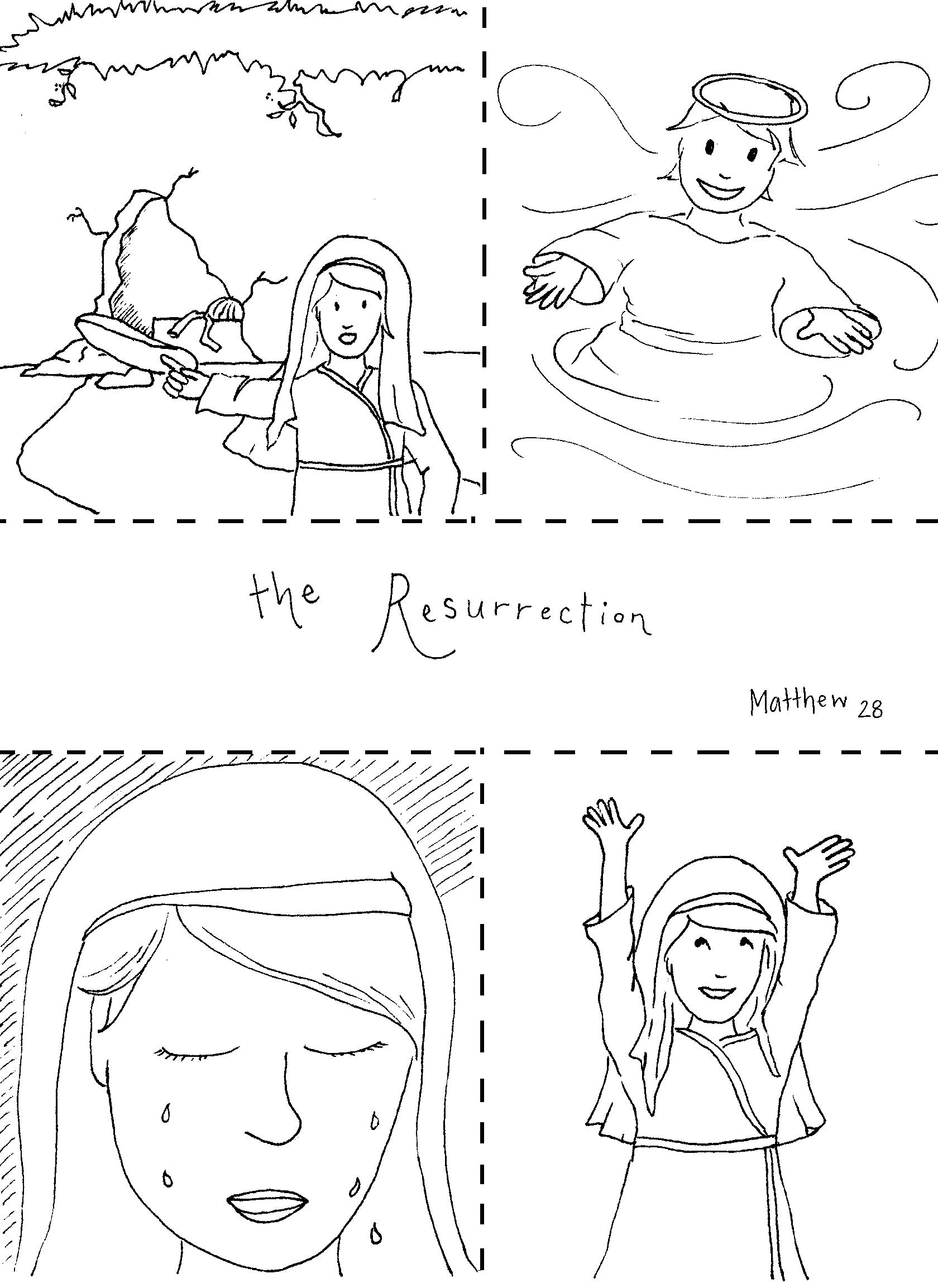 28 Jesus Resurrection Coloring Page Compilation | FREE COLORING ...