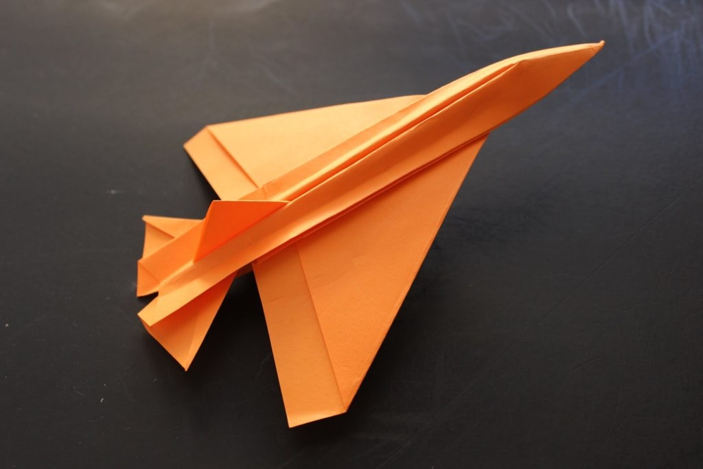 jet coloring pages - how to make a cool paper plane origami instruction jet fighter 3