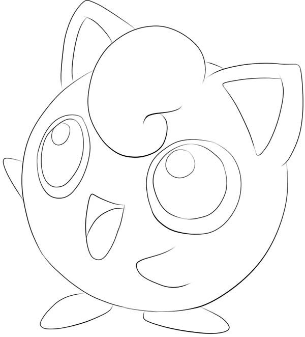23 Jigglypuff Coloring Page Images Free Coloring Pages Part 3