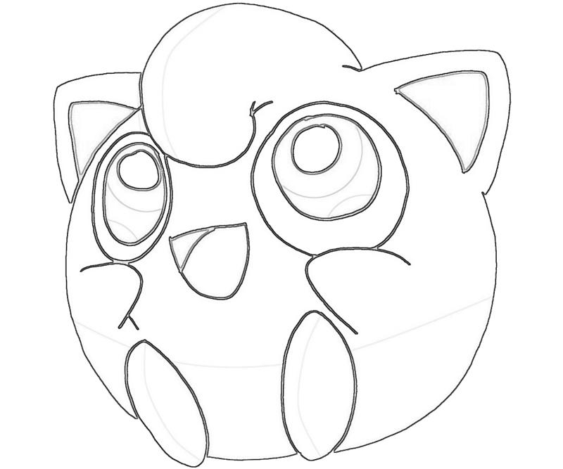 23 Jigglypuff Coloring Page Images Free Coloring Pages Part 2
