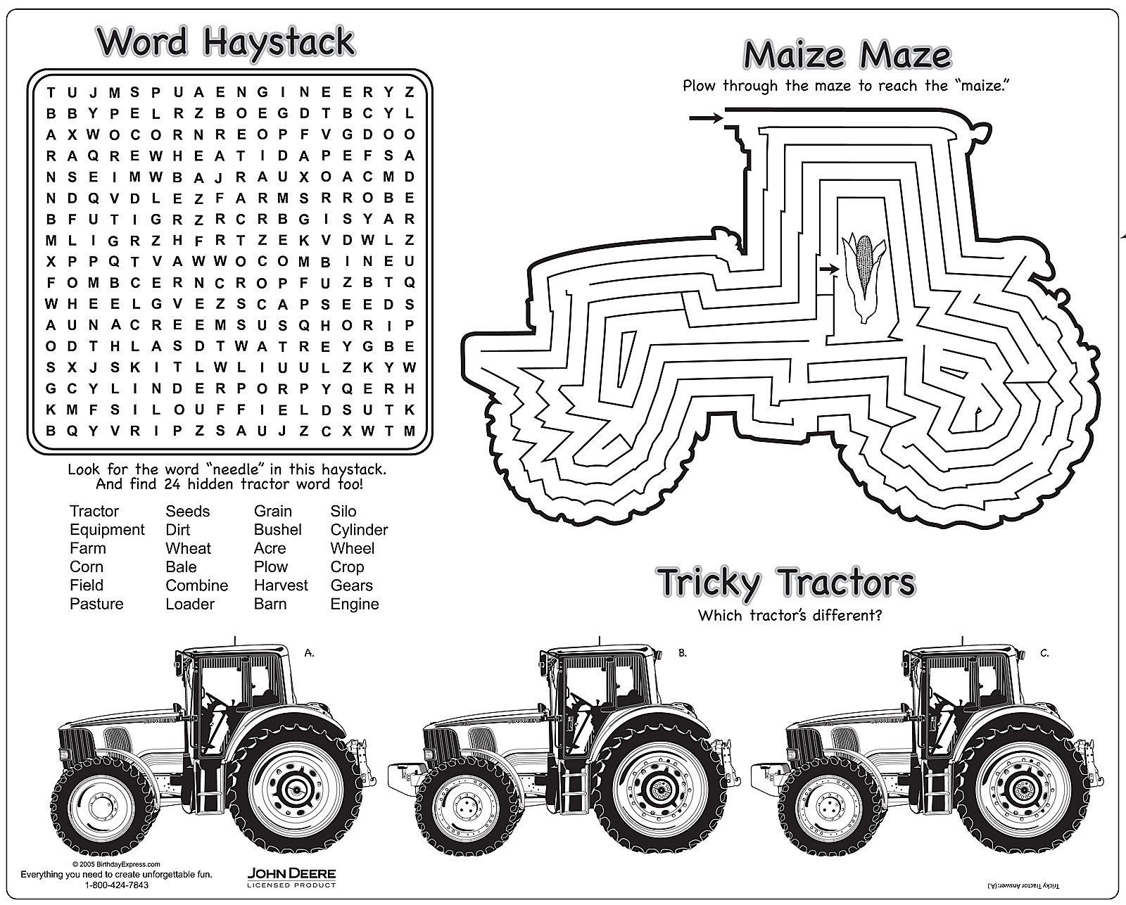 23 John Deere Coloring Pages Images   FREE COLORING PAGES ...