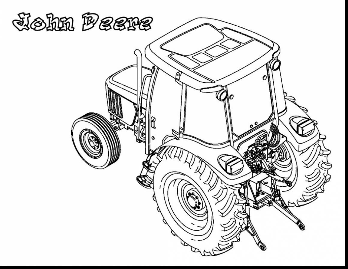 28 John Deere Tractor Coloring Pages Selection | FREE COLORING PAGES ...