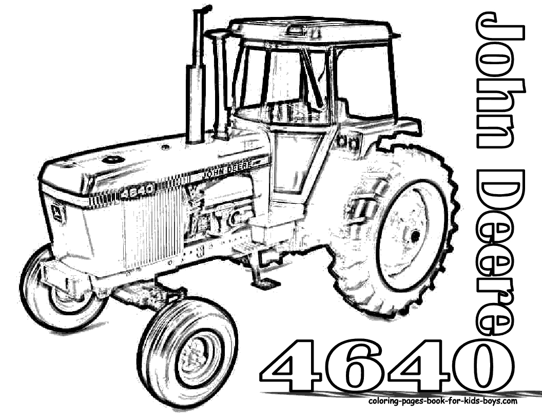 john deere tractor coloring pages - john deere tractors coloring pages