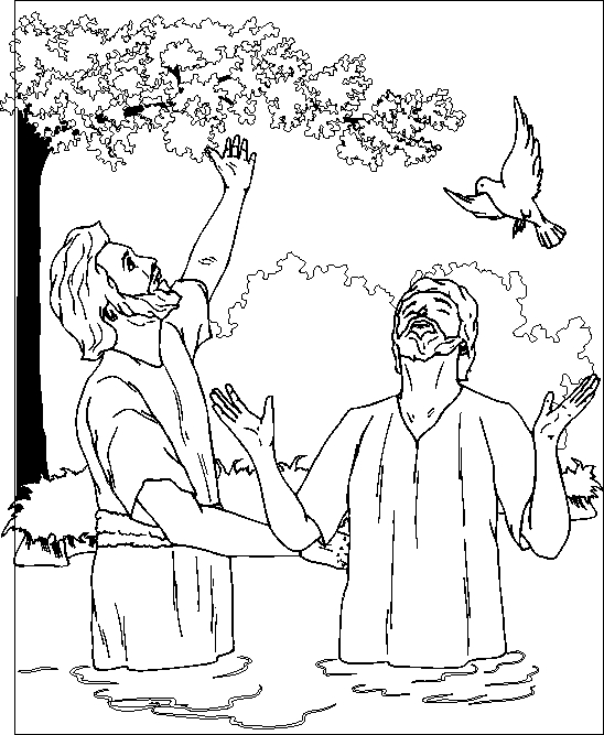John the Baptist Coloring Page - New Testament Coloring Pages