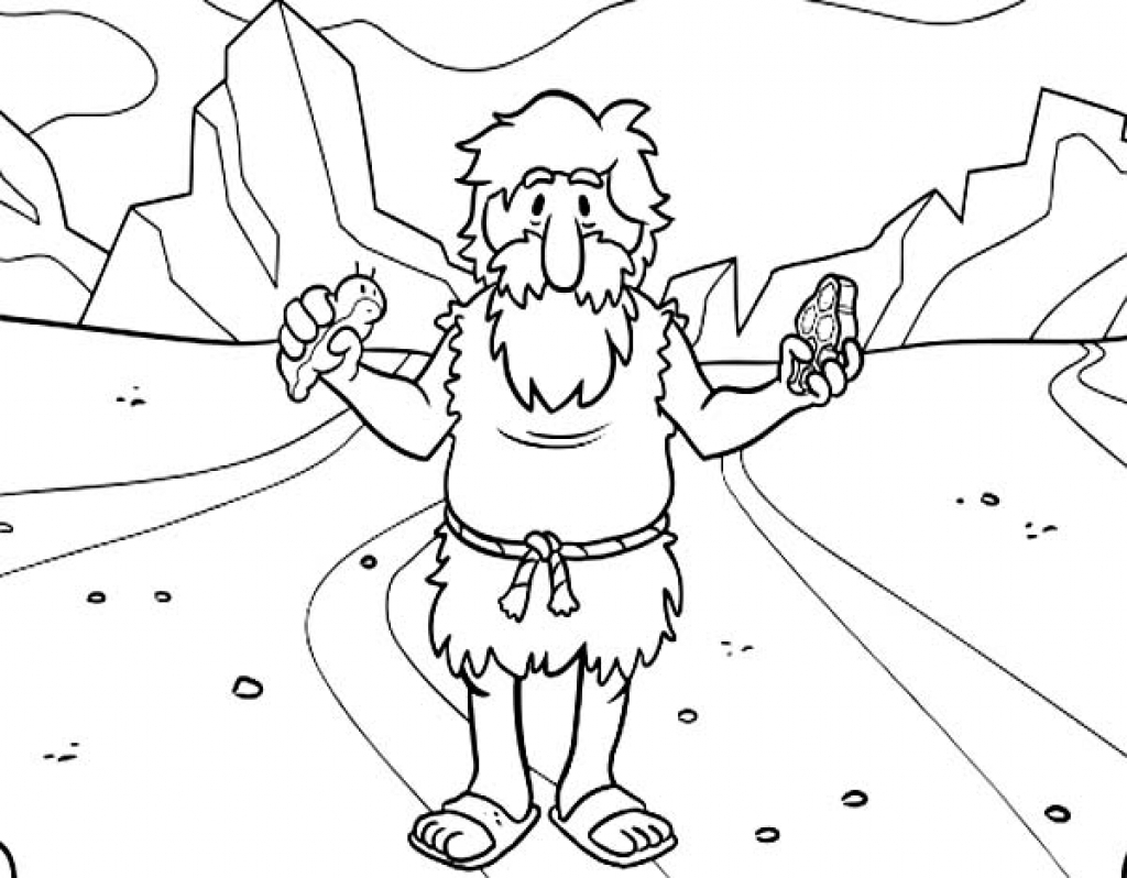 john the baptist coloring page - the stylish john the baptist coloring page with regard to invigorate to color an images