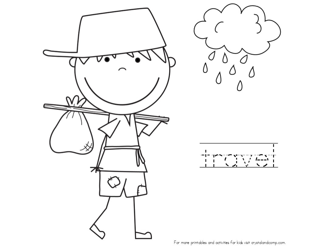 27 Johnny Appleseed Coloring Page Collections | FREE ...
