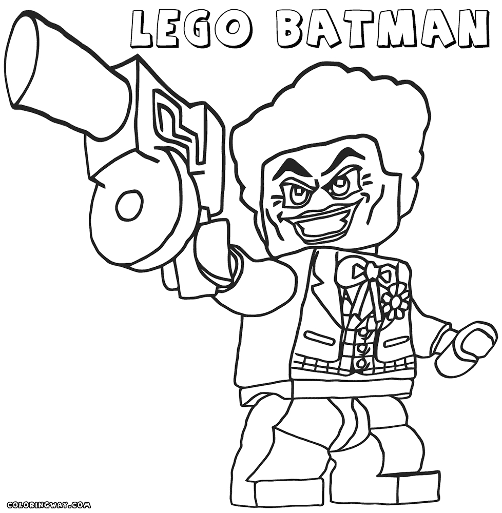 Gambar Lego Batman And Joker Coloring Pages Www Imgkid Com Jpeg Png ...