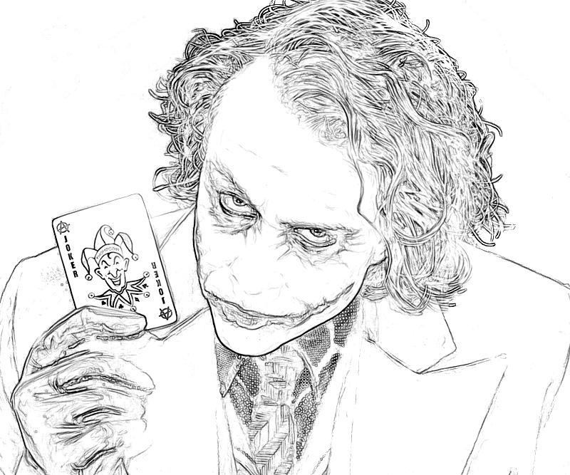 20 Joker Coloring Pages Collections