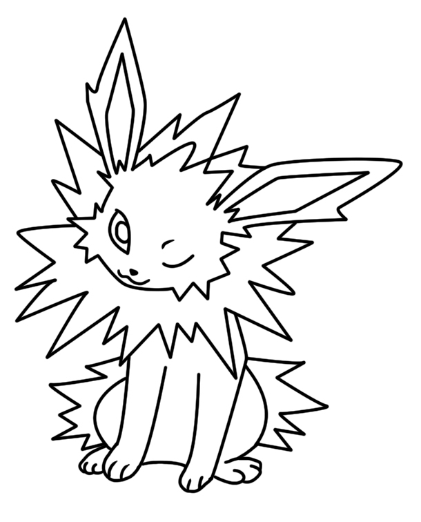 27 Jolteon Coloring Pages Selection Free Coloring Pages Part 2