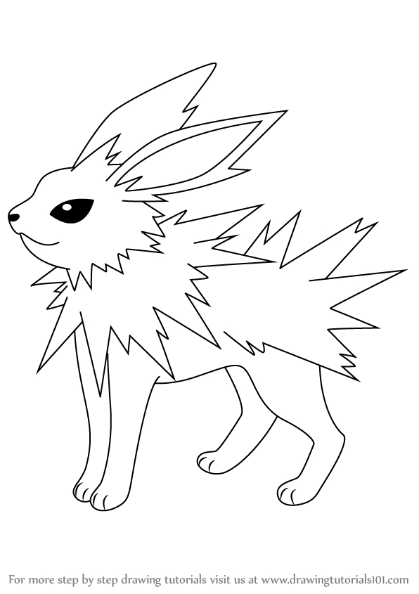 27 Jolteon Coloring Pages Selection Free Coloring Pages Part 3