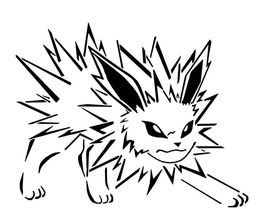 jolteon coloring pages - i137 photobucket albums q229 monoyuki site jolteon