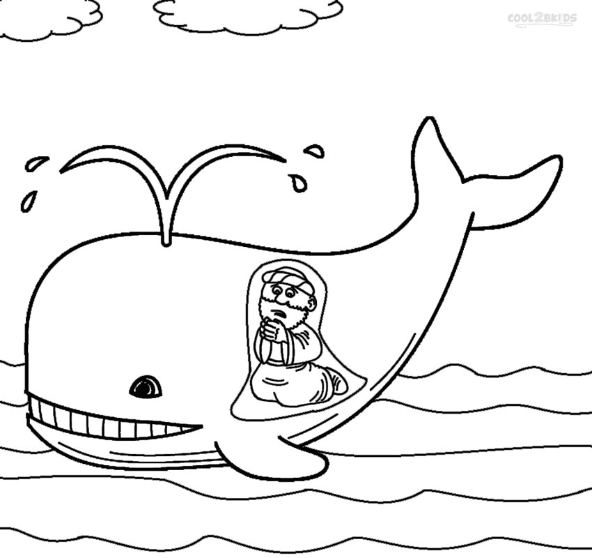 jonah and the whale coloring page - awesome and also gorgeous jonah and the whale coloring pages to inspire in coloring page