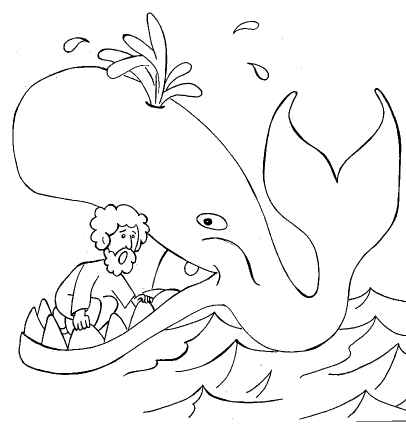 Jonah Coloring Pages - Giona Giona Da Colorare