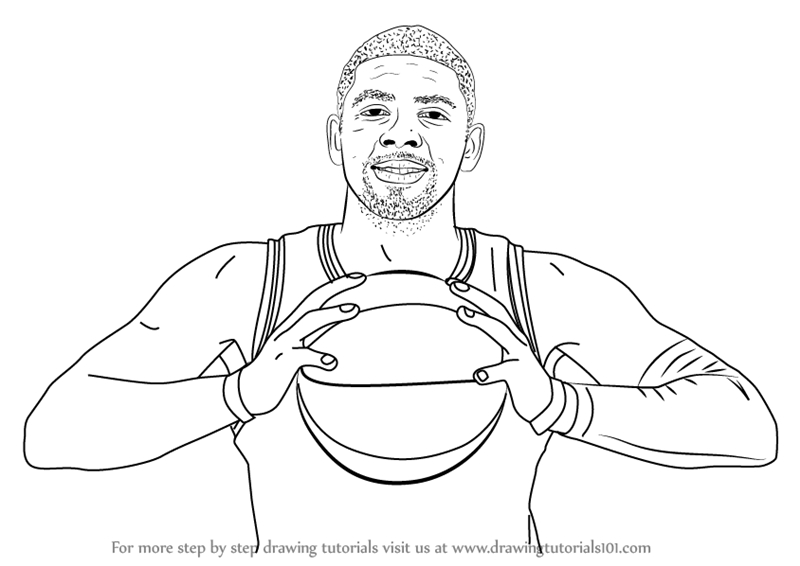jordan 11 coloring page - how to draw kyrie irving