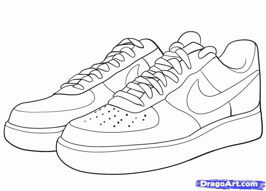 jordan coloring pages - air jordan 4 coloring sketch templates
