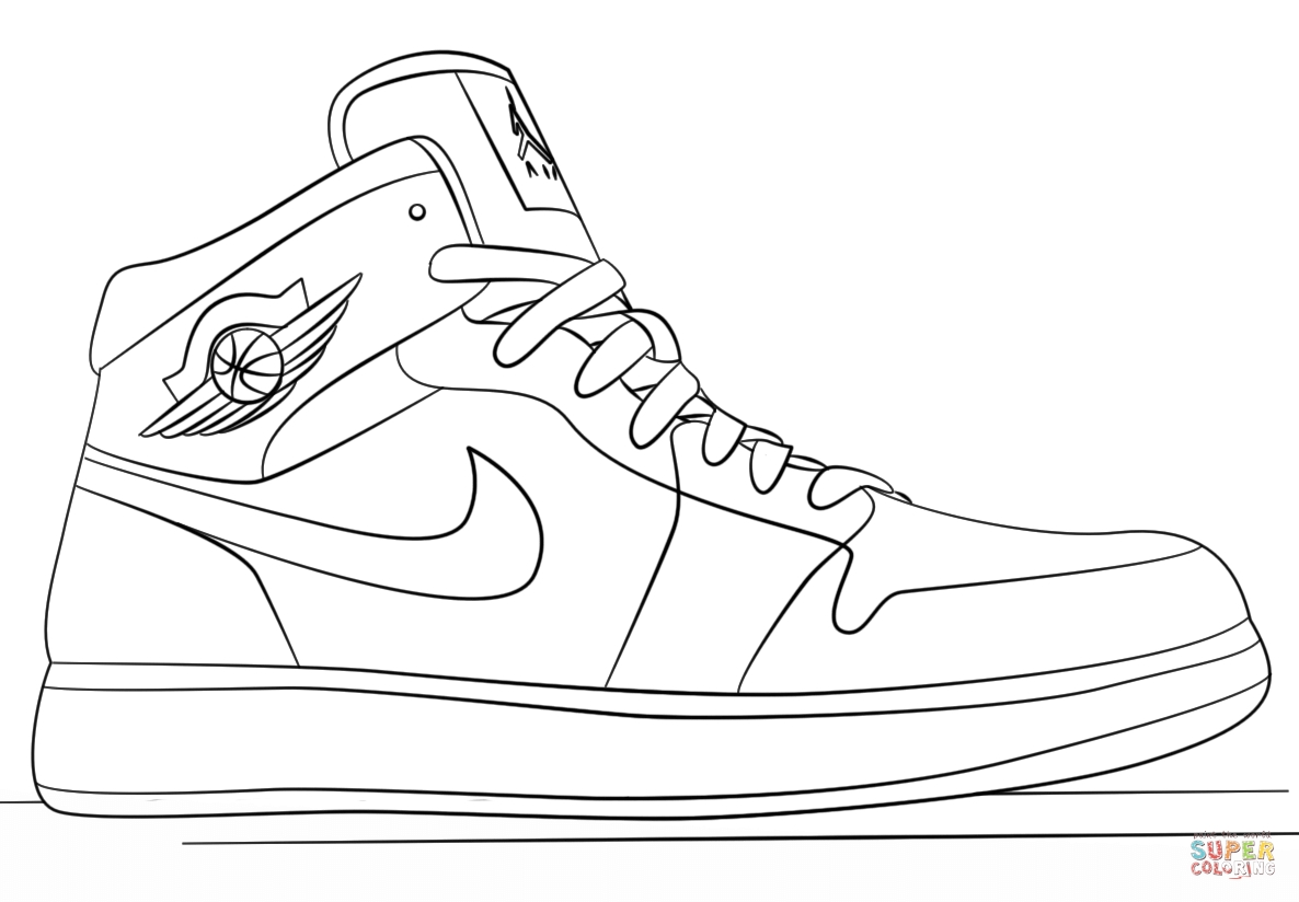 jordan coloring pages - coloring pages jordans