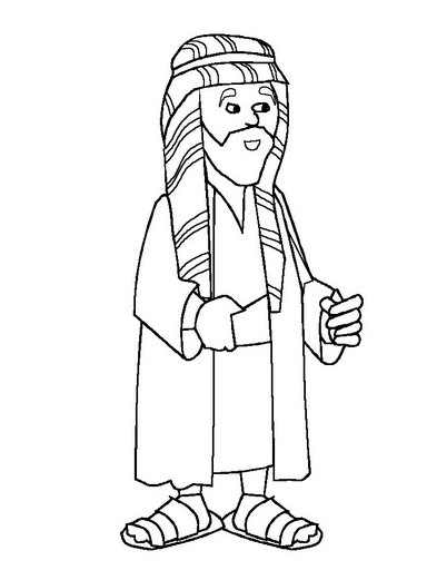 joseph coat of many colors coloring page - bible coloring pages joseph in egypt