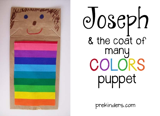 joseph coat of many colors coloring page - joseph and the coat of many colors puppet