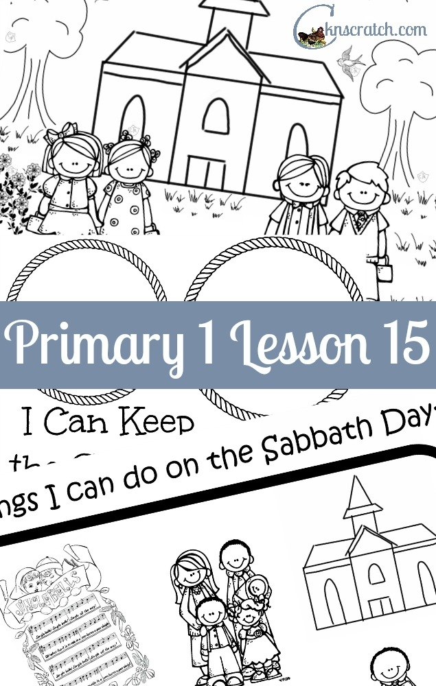 joseph smith coloring pages - the sabbath is a day of worship