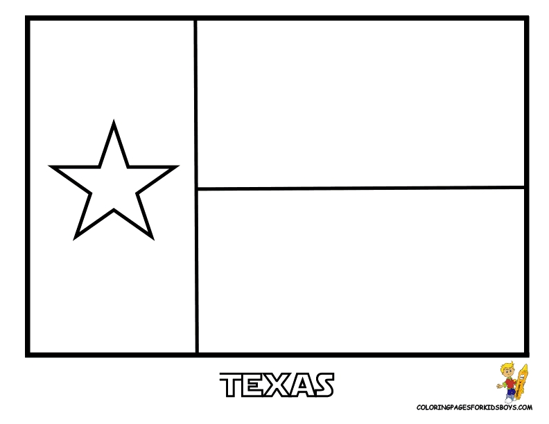 joseph smith coloring pages - texas flag coloring page