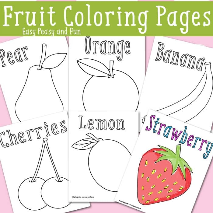 july 4th coloring pages printable - fruit coloring pages