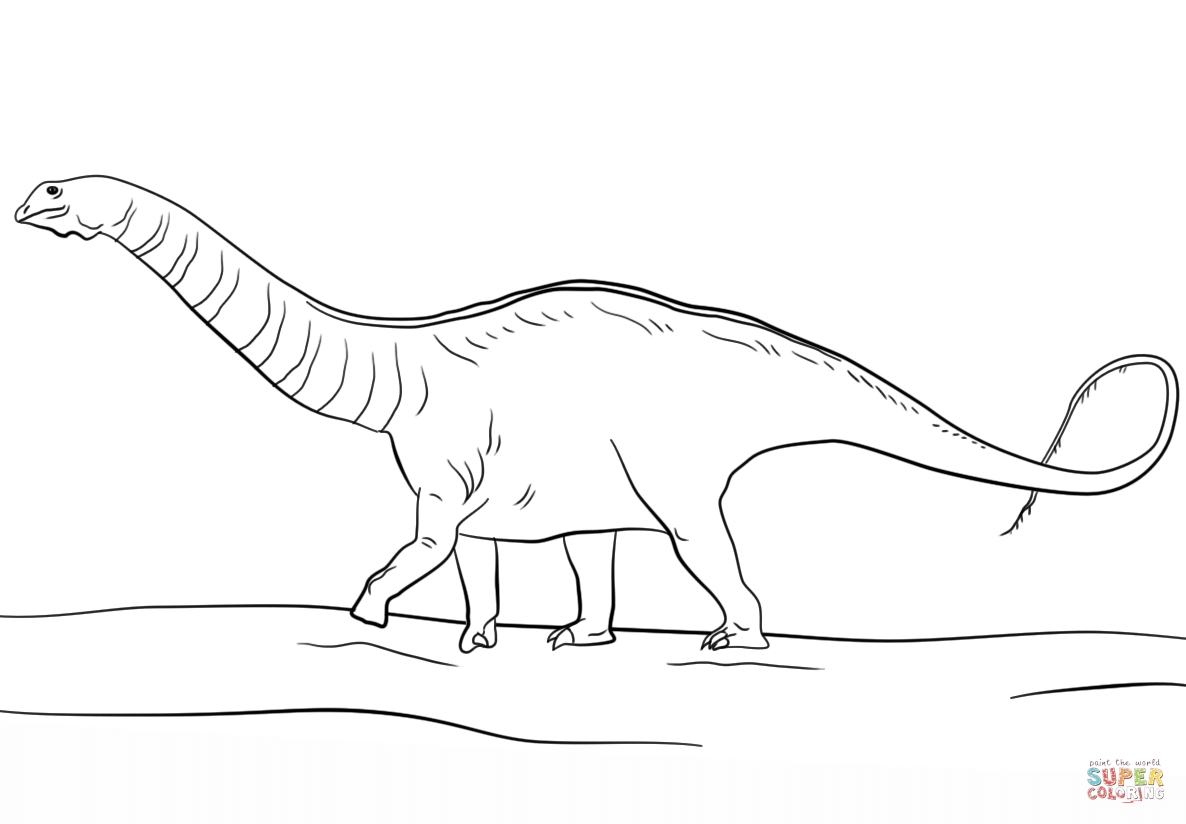 jurassic park coloring pages - jurassic park apatosaurus