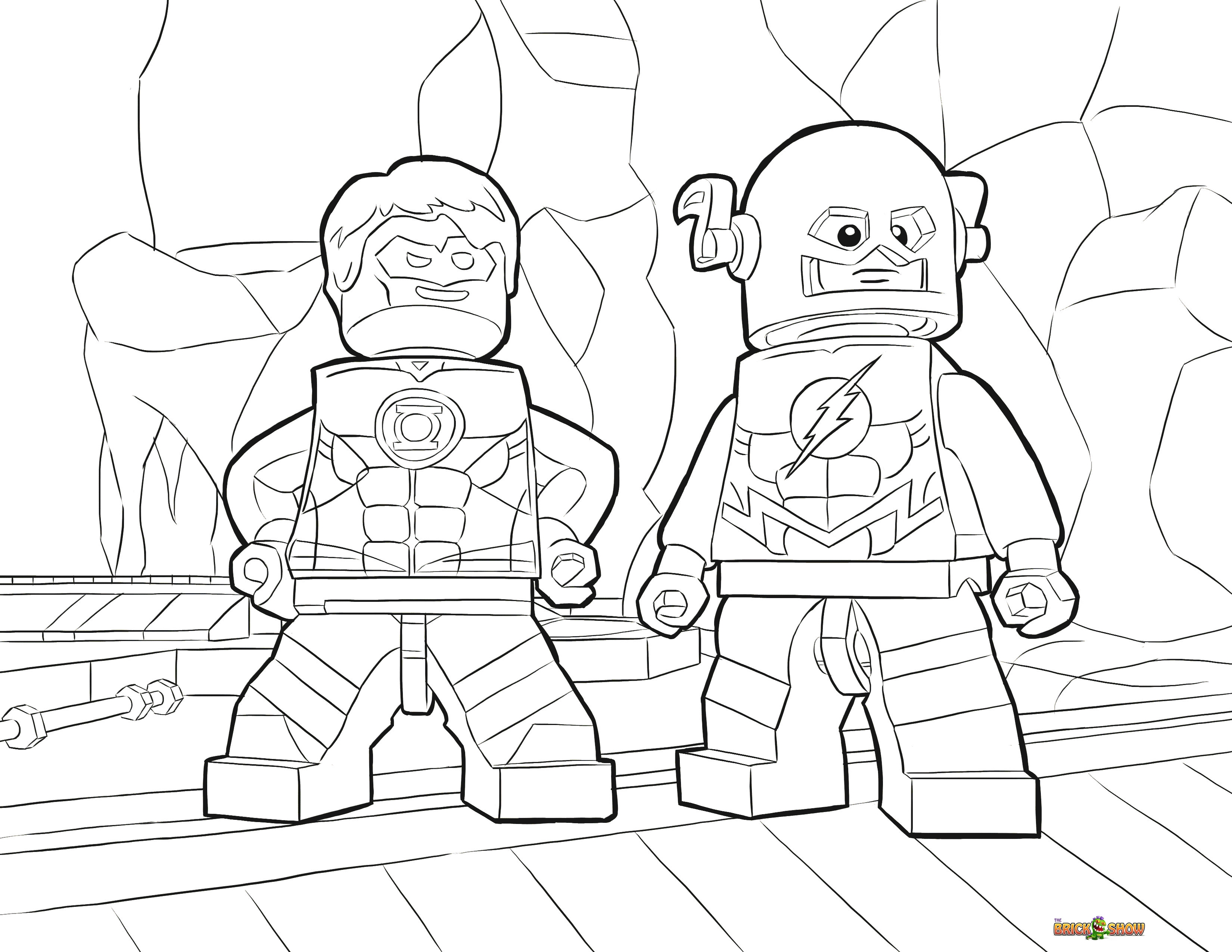 28 Justice League Coloring Pages Compilation | FREE COLORING PAGES
